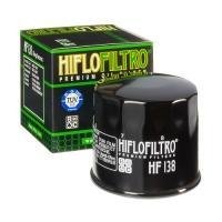 Масляный фильтр HIFLO HF138 глянцево-черный (Aprilia, Arctic Cat, Bimota, Cagiva, Kawasaki, Kymco, Sachs, Suzuki)