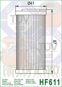Масляный фильтр HIFLO HF611 (BMW, Husqvarna, Sherco)