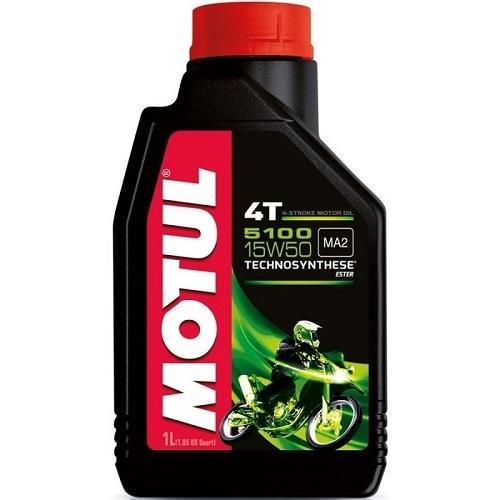 Моторное масло MOTUL 5100 4T 15W50 (1 л.)