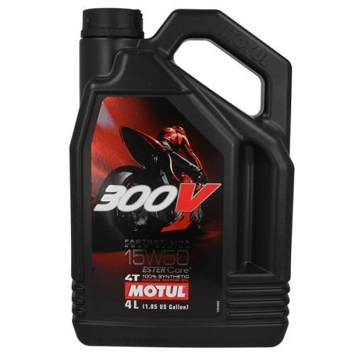 Моторное масло MOTUL 300V 4T FACTORY LINE 15W50 (4 л.)