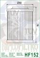 Масляный фильтр HIFLO HF152 (Aprilia, Bombardier, Can-Am, HISUN)