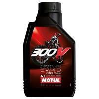 Моторное масло MOTUL 300V 4T OFF ROAD 5W40 (1 л.)