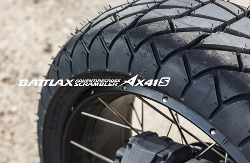 Мотоциклетная резина BRIDGESTONE BATTLAX ADVENTURECROSS SCRAMBLER AX41S