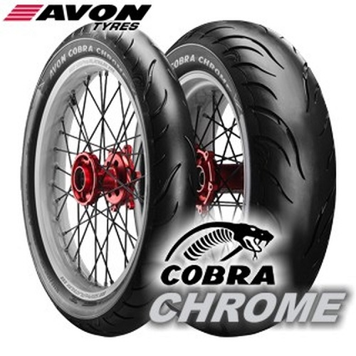 Новинка Avon Cobra Chrome на Intermot 2018
